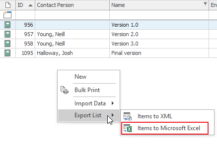 Import Items From Microsoft Excel — eWay-CRM Knowledge Base