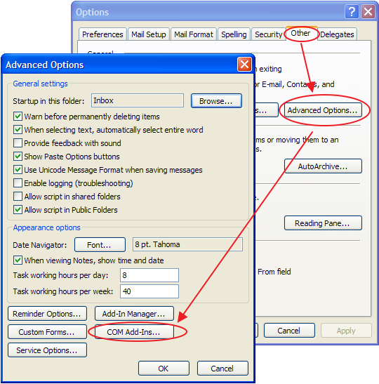 I cannot see eWay-CRM toolbars in MS Outlook — eWay-CRM